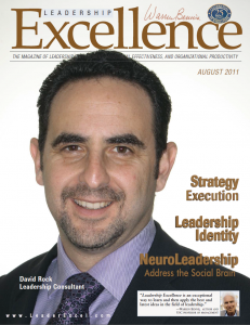 "Isaac's article in ""Leadership Excellence"""